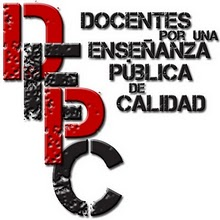 Logo de Docentes por una Escuela Pública de Calidad