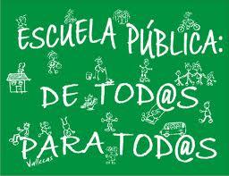 Escuela Publica de tod@s y para tod@s